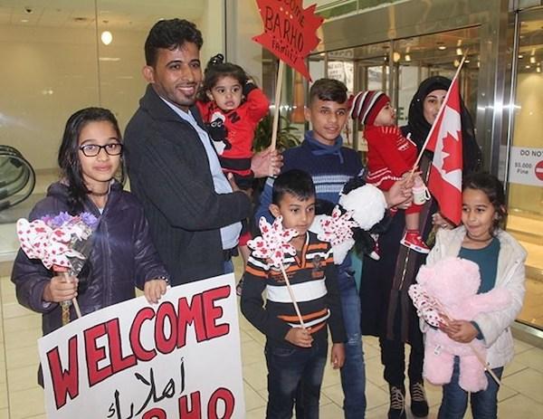 Barho Syrian Family