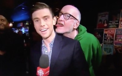 Live On-Air Licking of CBC Reporter Sparks Outrage