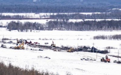 Saying Sorry: CN Apologizes to Manitoba Rancher for Oil Spill After Derailment