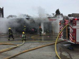 Goodwill Store Fire