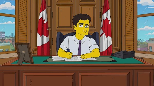 Justin Trudeau - The Simpsons