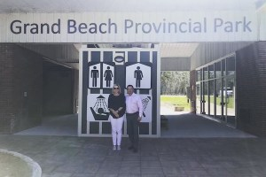 Grand Beach Washrooms