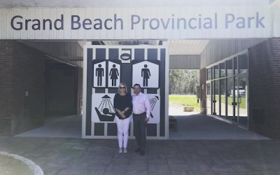 Gender-Neutral Washrooms in Grand Beach Part of $10M in Upgrades to Parks