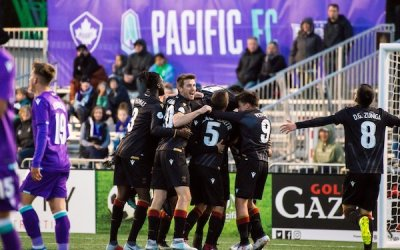 Dylan Carreiro Scores Winner, Valour FC Beats Pacific FC 2-1 to Open CPL Season