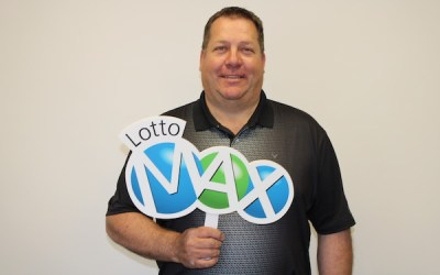 'I Nearly Fell Backwards into the Ditch:' Winnipeg Man Wins $9.5M on Lotto Max Ticket