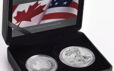 Coin Set Commemorates Relationship Between Canada, United States