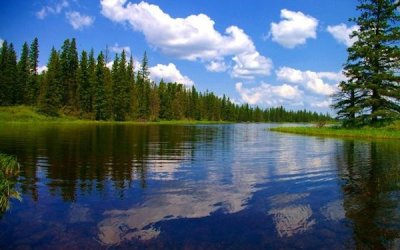Whirlpool Lake, Campground Open in Riding Mountain National Park