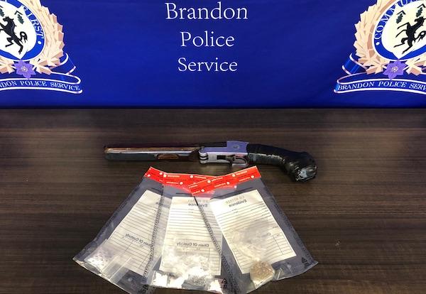 Brandon Drug - Gun Seizure