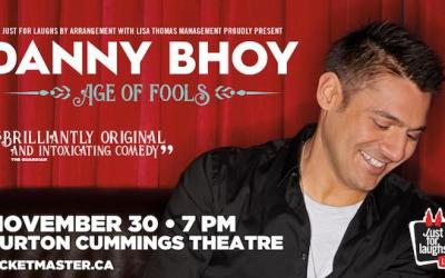 Comedian Danny Bhoy Playing The Burt in November