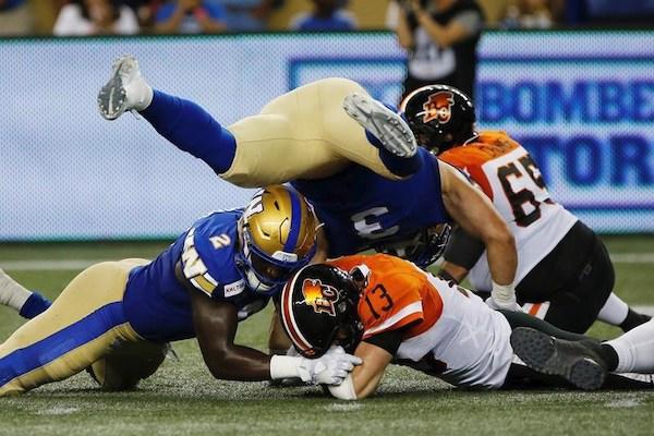 Winnipeg Blue Bombers - B.C. Lions
