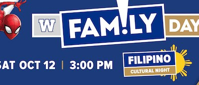 Blue Bombers Celebrating Family Day on October 12