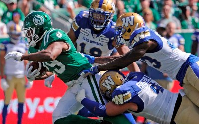 Brett Lauther's Last-Second Field Goal Lifts Roughriders Over Blue Bombers 19-17