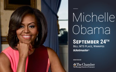 Former First Lady Michelle Obama to Speak in Winnipeg