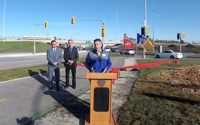 Traffic Flowing Again: Pembina Highway Underpass Reopens