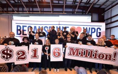 United Way Winnipeg Pulls to Meet $21.6M Campaign Goal