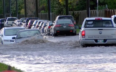 Winnipeg Streets Flooded After Severe Thunderstorms