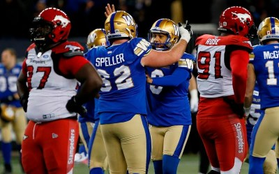 Justin Medlock Leads Blue Bombers Over Stampeders with Late Field Goal