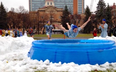 U of M Students Taking Chilly Plunge for Charity
