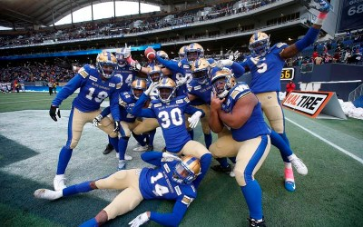 Nick Taylor's Pick-Six a Highlight of Bombers' 35-24 Win Over Alouettes
