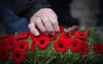 With Silence and Salutes, Canadians Mark Remembrance Day
