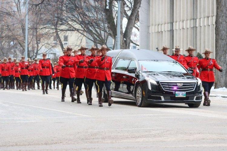 Allan Poapst Funeral