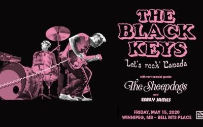 The Black Keys 'Let's Rock' Tour Hitting Winnipeg in May