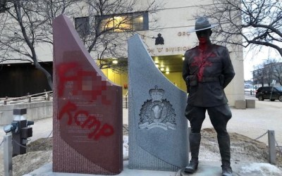 Man Charged in Vandalism of RCMP Headquarters, CMHR, MP's Office