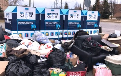 Diabetes Canada Donation Bins Overflowing as Collection Stops