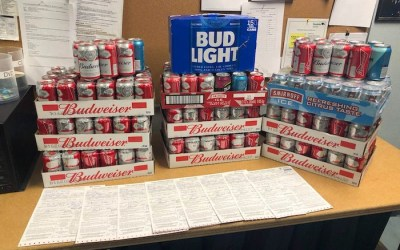 Booze, Drugs Seized from Dry Northern Manitoba Communities
