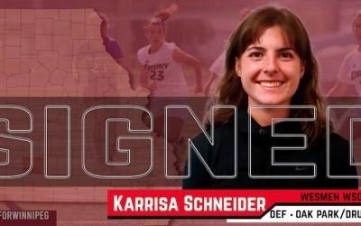 Wesmen Soccer Recruits Oak Park's Karrisa Schneider