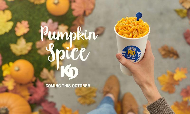 Kraft Pumpkin Spice KD