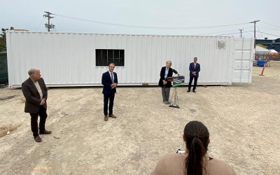 Manitoba to Retrofit Shipping Containers for PCH Visitation
