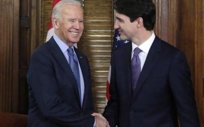 Justin Trudeau First Leader to Talk to U.S. President-Elect Joe Biden