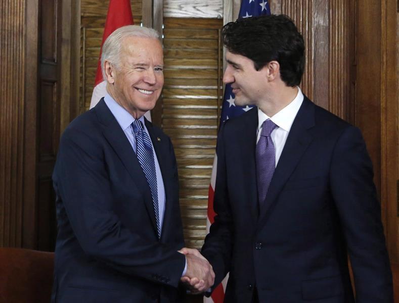 Joe Biden - Justin Trudeau