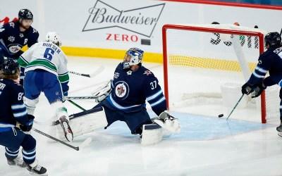 Boeser Scores Twice as Vancouver Canucks Down Winnipeg Jets 4-1