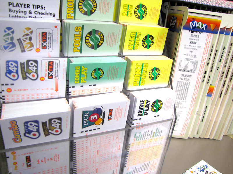 Lottery Stand
