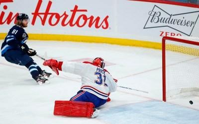 Jets Spoil Ducharme's Debut in 6-3 Win Over Montreal