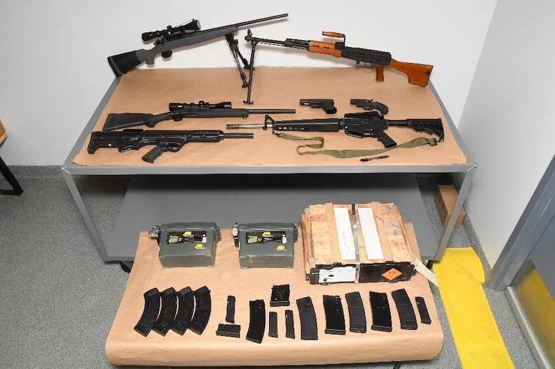 Weapons Seizure
