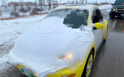 Teen Ticketed for Snow-Covered Bug on the Perimeter