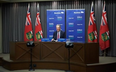 Pallister Defends Decision to Move Schools to Remote Learning as COVID-19 Cases Surge