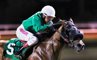 Coming Back Slowly: Downs' Jockey Beauregard Questions Racing Future