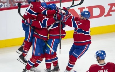 Canadiens Beat Jets 3-2 in Overtime for Four-Game Sweep