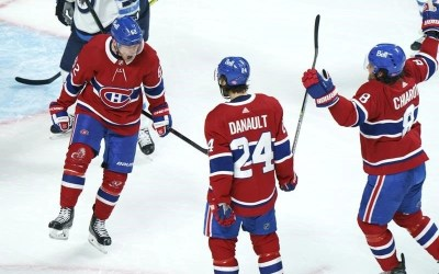 Canadiens Down Jets 5-1 to Take 3-0 Series Stranglehold