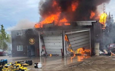 Nisichawayasihk Cree Nation Fire Hall Destroyed by Fire