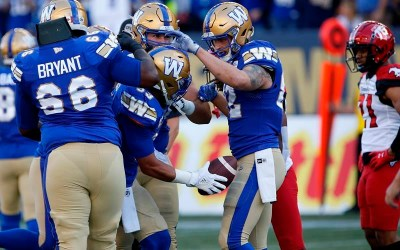 Last-Minute Liegghio Field Goal Gives Blue Bombers Thrilling 18-16 Win Over Stamps