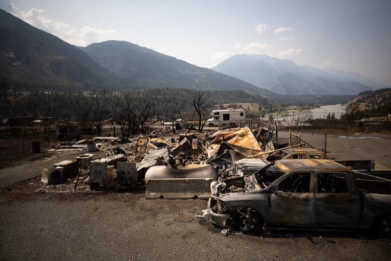 Lytton, B.C. Wildfire