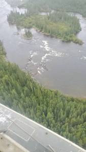 Rescued Canoeists - Hayes River