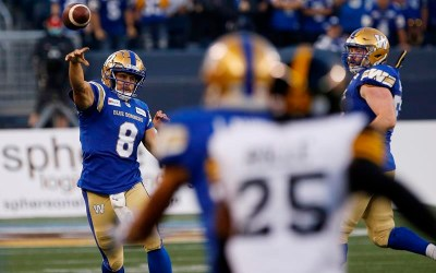 Blue Bombers Beat Ticats in CFL Season Opener with 29,376 Fans at IG Field