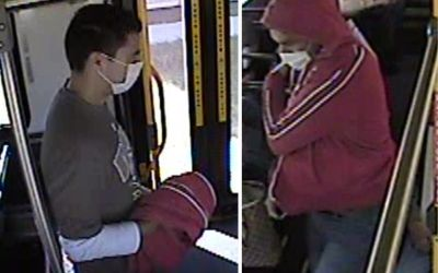 Suspect Wanted in Robbery, Assault on Winnipeg Transit Bus