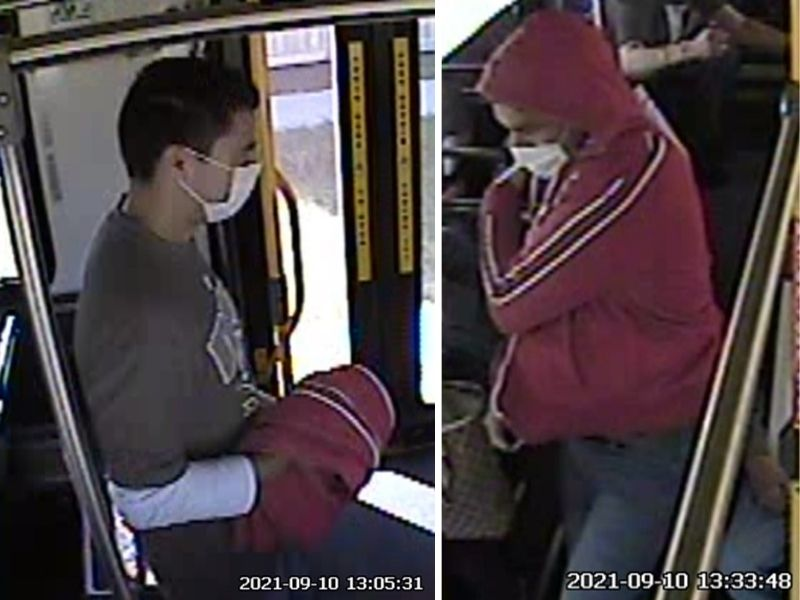 Bus Robbery Suspect
